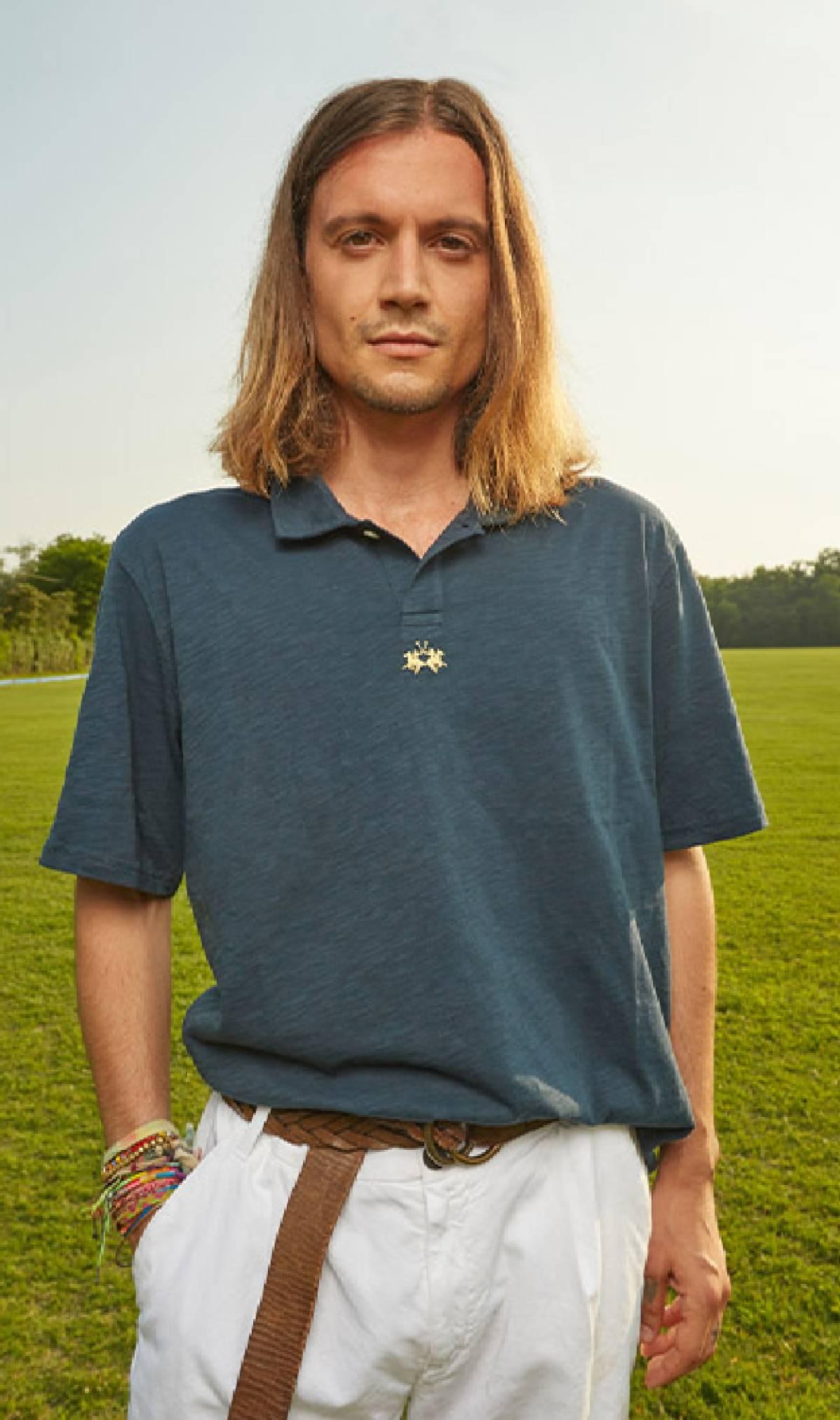 LA MARTINA Guards Polo Club Weiß Polohemd T-Shirt Größe 1 S 2 M 3 L 4 XL