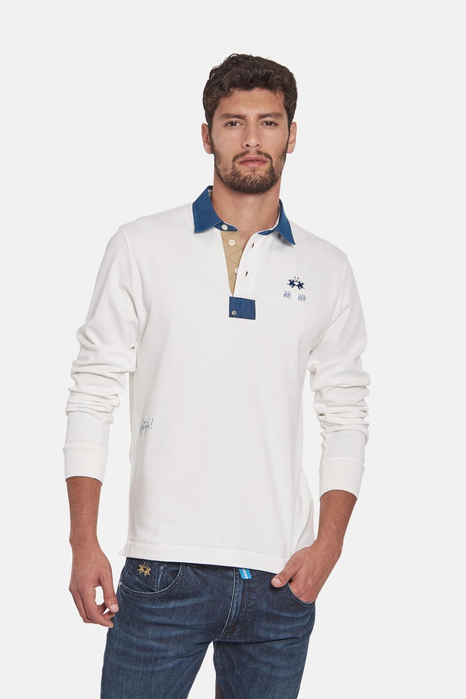 Cotton slim-fit polo shirt