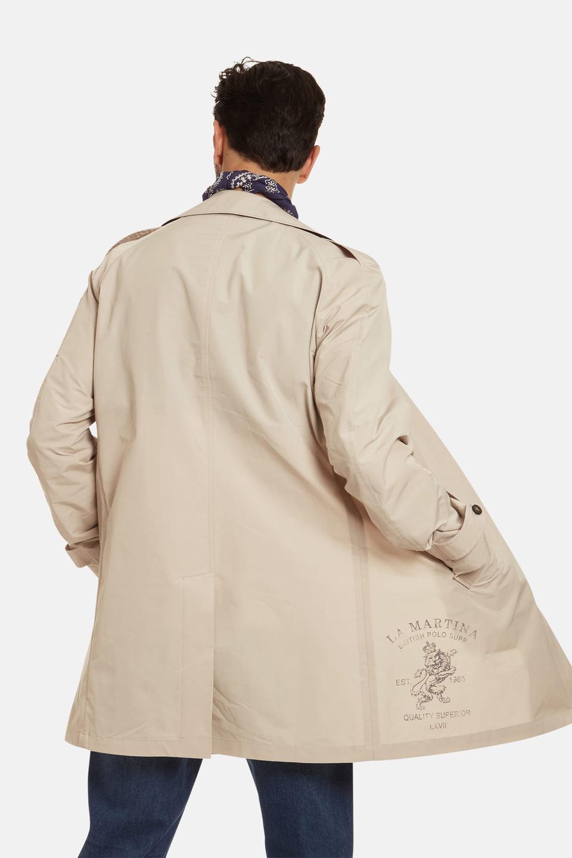 Regular-fit single-breasted jacket - La Martina - Official Online Shop